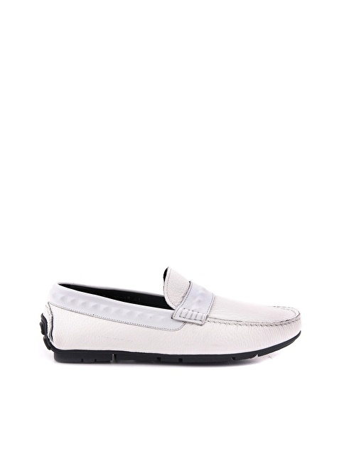 Mocassini Ayakkabı Beyaz